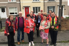 Going door to door in Drimnagh