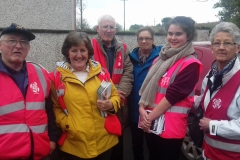Going door to door in Aughrim